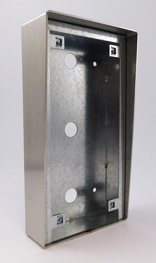 12 0105 boitier pose en saillie pour interphones audio appel gardien intratone. Black Bedroom Furniture Sets. Home Design Ideas