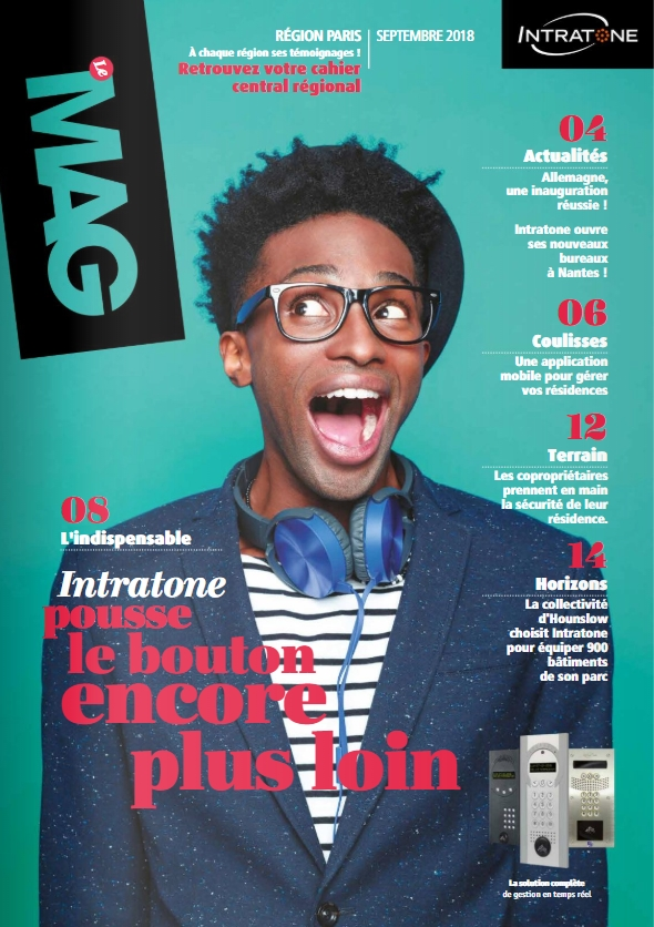Couverture magazine septembre 2018